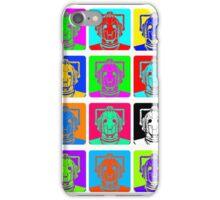 Doctor Who - Andy Warhol (Cybermen) iPhone Case/Skin