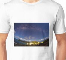 Milky way over Hamilton island Unisex T-Shirt