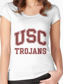 University of Southern California Trojans Women's Fitted Scoop T-Shirt