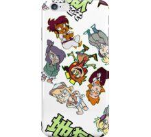 地獄へようこそ!- sticker design pattern iPhone Case/Skin