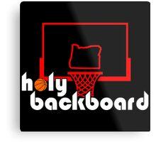 Holy Backboard Podcast Metal Print