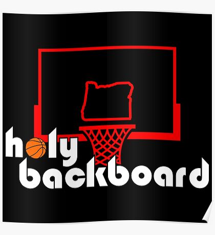 Holy Backboard Podcast Poster