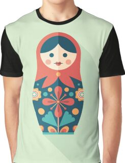 Russian Nesting Doll Graphic T-Shirt