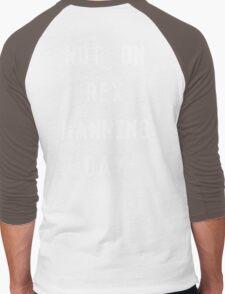 Not on Rex Manning Day_White Men's Baseball ¾ T-Shirt