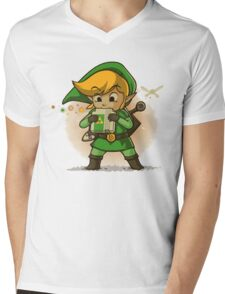 The Legend Of Zelda Mens V-Neck T-Shirt