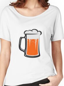 drinking beer booze handle Women's Relaxed Fit T-Shirt