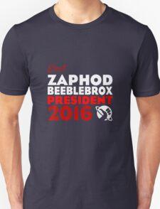 Zaphod Beeblebrox 2016 Unisex T-Shirt