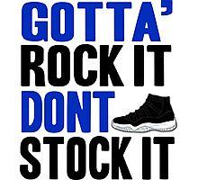 Gotta Rock It - Space Jam 11 Photographic Print