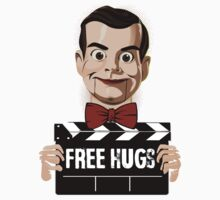 slappy free hugs Kids Tee