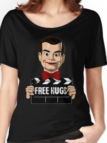 slappy free hugs Women's Relaxed Fit T-Shirt