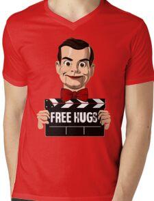 slappy free hugs Mens V-Neck T-Shirt