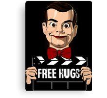 slappy free hugs Canvas Print