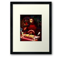 Book of Spells Framed Print
