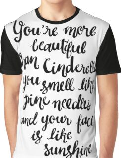 Bridesmaids_White Graphic T-Shirt
