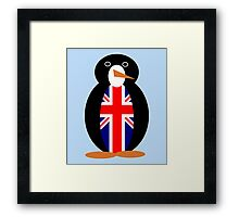 British Penguin Framed Print