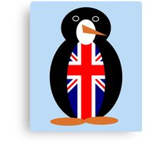 British Penguin Canvas Print