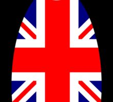 British Penguin Sticker