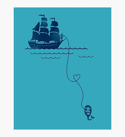 Long Distance Love Photographic Print