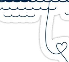 Long Distance Love Sticker