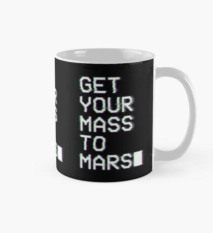 Get Your Mass to Mars (Glitch) – Mugs Mug
