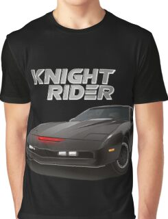 knight rider black car Graphic T-Shirt