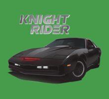 knight rider black car Kids Tee