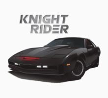 knight rider black car Kids Tee