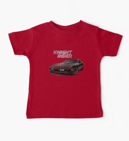 knight rider black car Baby Tee
