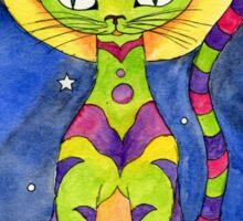 Ankh Cat Totem Sticker