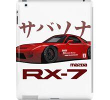 mazda RX-7 performance iPad Case/Skin
