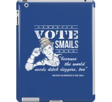 Vote Smails iPad Case/Skin