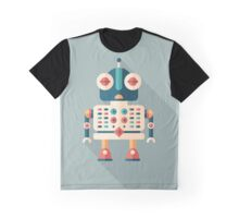 Robot Security Guard Graphic T-Shirt
