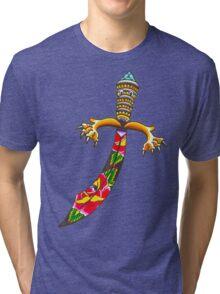 Rose Dagger Tri-blend T-Shirt