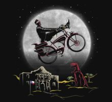 Pee Wee Phone Home One Piece - Short Sleeve
