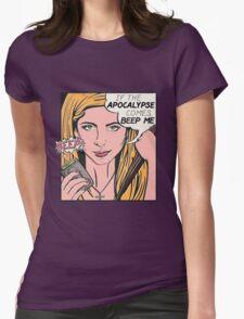 Pop Art Slayer Womens Fitted T-Shirt