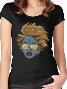 We Golden Women's Fitted Scoop T-Shirt