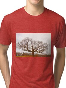 Tree - Outstanding in its Field Tri-blend T-Shirt