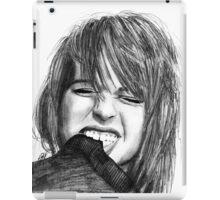 Hayley Williams Drawing iPad Case/Skin