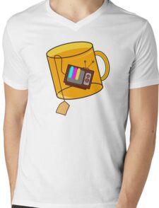 TeaV Mens V-Neck T-Shirt