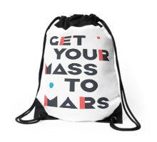 Get Your Mass to Mars (Modern/Dark) – Drawstring Bags Drawstring Bag