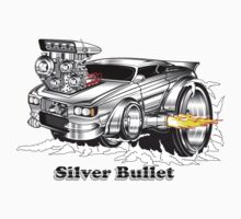 silver bullet 2 One Piece - Short Sleeve