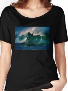 Winter Waves At Waimea Bay 2 Women's Relaxed Fit T-Shirt
