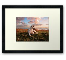 Yep. It was a pretty good day! Framed Print