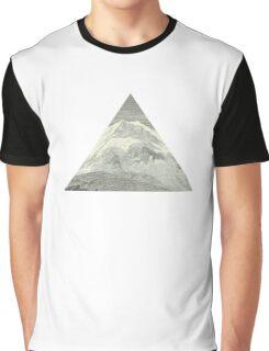 Mountain triangle Graphic T-Shirt