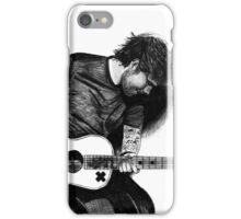 Ed Sheeran Drawing iPhone Case/Skin