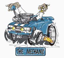 the mechanic One Piece - Short Sleeve