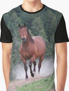 Sir Conan - Rescue Horse Graphic T-Shirt