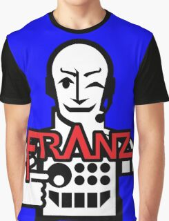 VJ FRANZ K Character Logotype Graphic T-Shirt