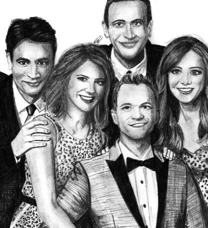 How I Met Your Mother Drawing Sticker