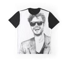 Matthew Gray Gubler Drawing Graphic T-Shirt